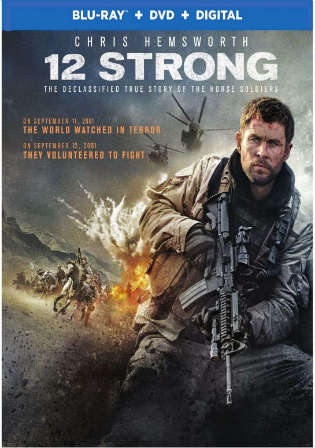 12 Strong 2018 BRRip 350MB English 480p ESub Watch Online Full Movie Download bolly4u