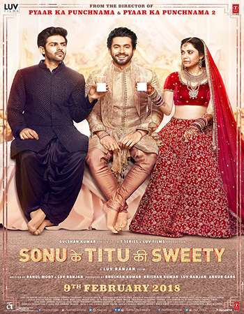 Sonu Ke Titu Ki Sweety 2018 Hindi 180MB HDRip HEVC Mobile ESubs