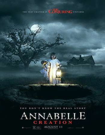 Annabelle Creation 2017 Hindi ORG Dual Audio 500MB BluRay 720p ESubs HEVC