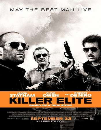 Killer Elite 2011 Hindi Dual Audio 550MB BluRay 720p ESubs HEVC