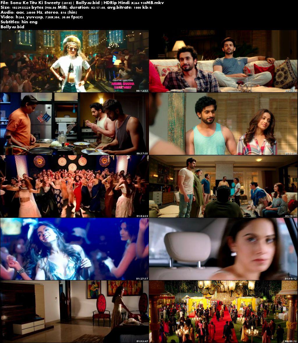 Sonu Ke Titu Ki Sweety 2018 HDRip 950MB Full Hindi Movie Download x264