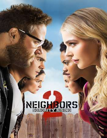 Neighbors 2 Sorority Rising 2016 Dual Audio 720p BluRay [Hindi – English]