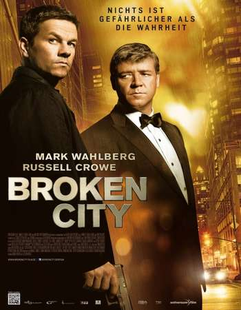 Broken City 2013 Hindi Dual Audio 300MB BluRay 480p ESubs