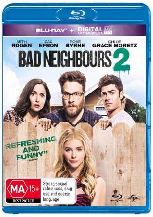Neighbors 2 Sorority Rising 2016 BRRip 700Mb Hindi Dual Audio 720p