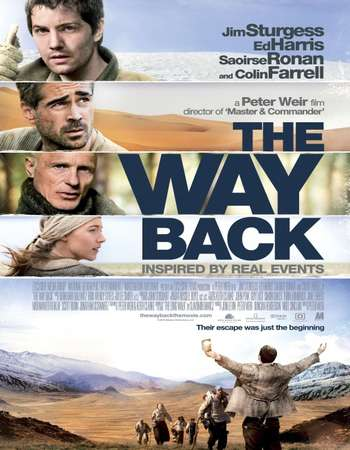 The Way Back 2010 Hindi Dual Audio BRRip Full Movie Download