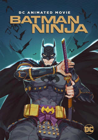 Batman Ninja 2018 WEB-DL 650Mb English 720p Watch Online Full Movie Download bolly4u