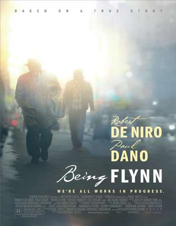 Being Flynn 2012 Hindi Dual Audio BRRip Full Movie Download