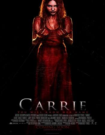 Carrie 2013 Hindi Dual Audio BRRip Full Movie Download