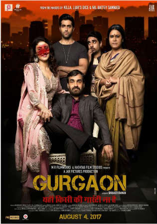 Gurgaon 2017 HDRip 700MB Full Hindi Movie Download 720p Watch Online Free bolly4u