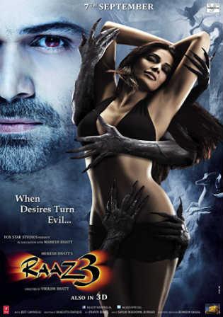 Raaz 3 2012 HDRip 999MB Full Hindi Movie Download 720p Watch Online Free bolly4u