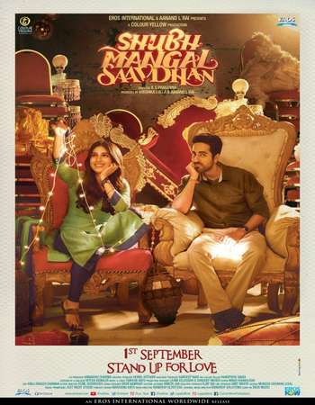 Shubh Mangal Saavdhan 2017 Full Hindi Movie DVDRip Free Download