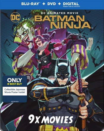 Batman Ninja 2018 English 720p BRRip 800MB ESubs