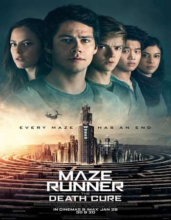 Maze Runner The Death Cure 2018 Dual Audio 720p BluRay ORG [Hindi - English] ESubs