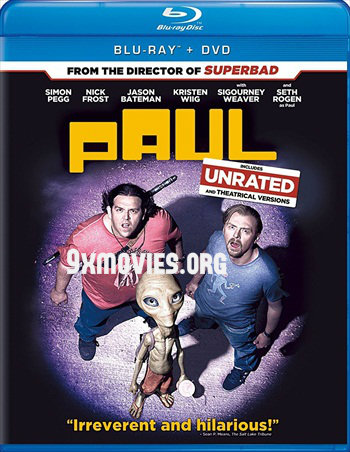 Free Download Paul 2011 Dual Audio Hindi 720p BluRay 850mb