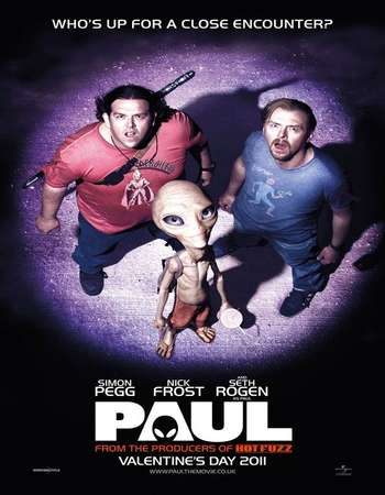 Paul 2011 Dual Audio 480p [Hindi – English] 350MB BRRip