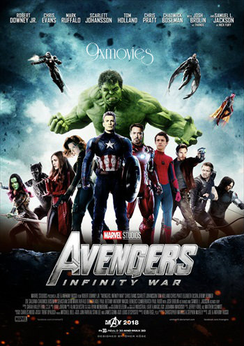 Avengers: Infinity War 2018 Dual Audio Movie 950MB