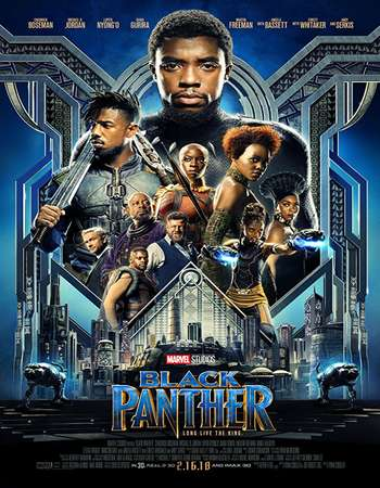 Black Panther 2018 Hindi Dual Audio 200MB BluRay HEVC Mobile ESubs