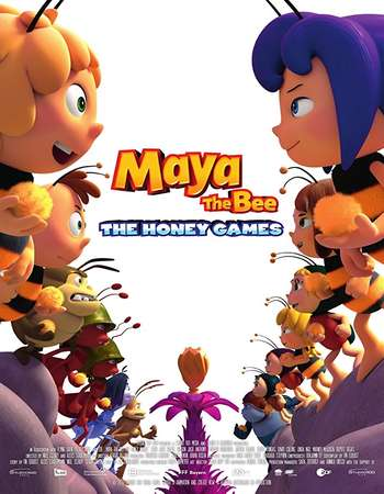 Maya the Bee 2 The Honey Games 2018 English 250MB Web-DL 480p ESubs