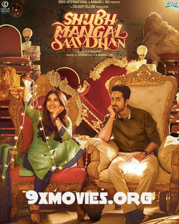 Shubh Mangal Saavdhan 2017 Hindi 720p HDRip 850mb