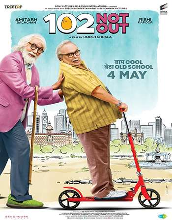 102 Not Out 2018 Hindi 140MB HDRip HEVC Mobile ESubs