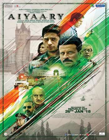 Aiyaary 2018 Full Hindi Movie HDTVRip Download