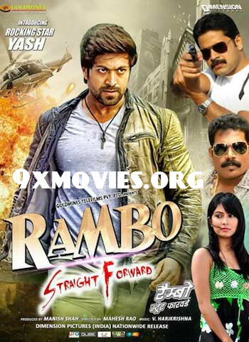 Rambo Straight Forward 2018 Hindi Dubbed 720p HDRip 950mb