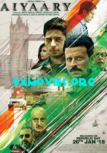 Aiyaary 2018 Hindi 720p HDRip 1.1GB