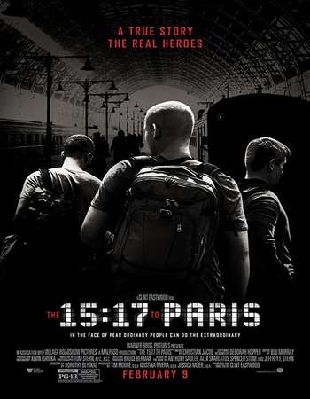 The 15:17 to Paris 2018 Full English Movie BRRip Download