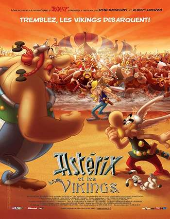 Asterix and the Vikings 2006 Hindi Dual Audio BRRip Full Movie Download