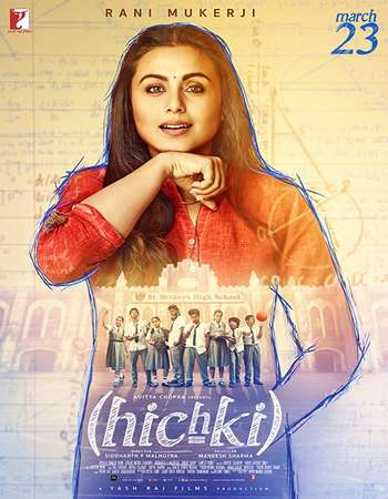 Hichki 2018 Full Mobile HEVC Hindi Movie BRRip Free Download