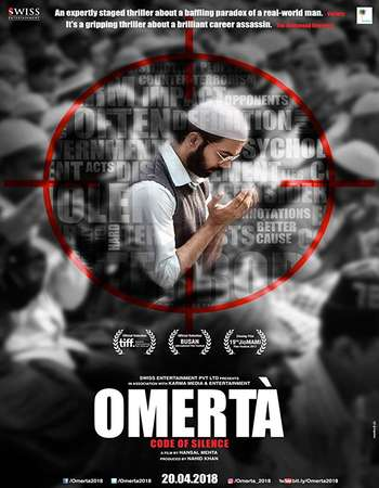 Omerta 2018 Hindi 450MB HDRip 720p HEVC