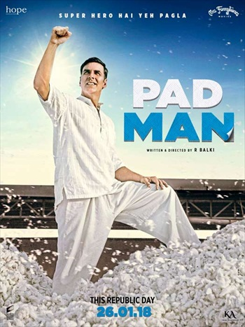 Padman 2018 Hindi 720p HDRip 950mb