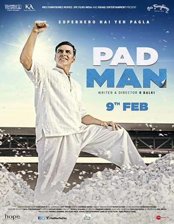 Padman 2018 Hindi 190MB HDRip HEVC Mobile