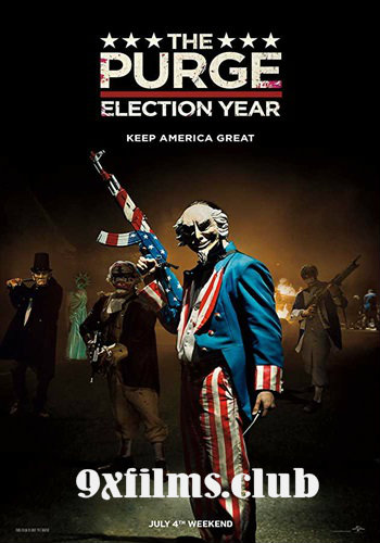 The Purge Election Year 2016 Dual Audio Hindi Full Movie Download