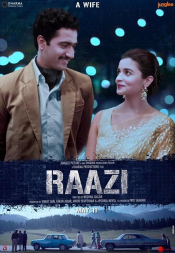 Free Download Raazi 2018 Hindi p  700MB
