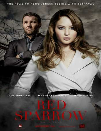 Red Sparrow 2018 Dual Audio 720p BluRay ORG [Hindi - English] ESubs