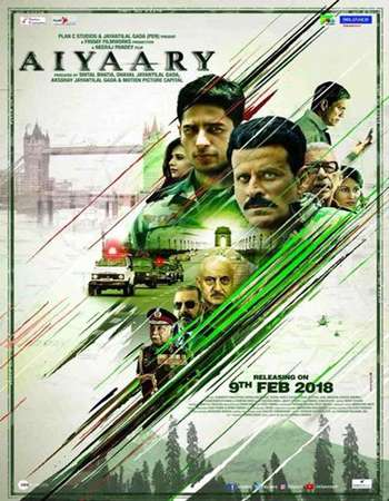 Aiyaary 2018 Hindi 700MB HDRip 720p ESubs HEVC