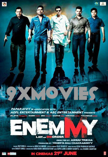 Enemmy 2013 Hindi 720p HDRip 850mb
