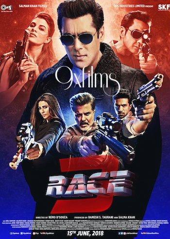 Race 3 2018 Theatrical Trailer Download