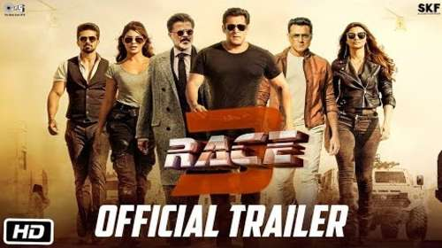 Race 3 2018 Hindi Movie Official Trailer Download