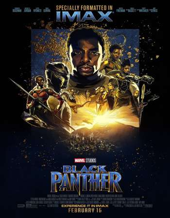 Black Panther 2018 Hindi Dual Audio 600MB BluRay 720p ESubs HEVC