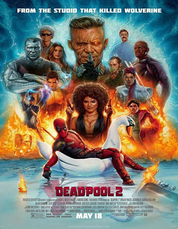 Deadpool 2 2018 Dual Audio 720p HDCAM [Hindi – English]