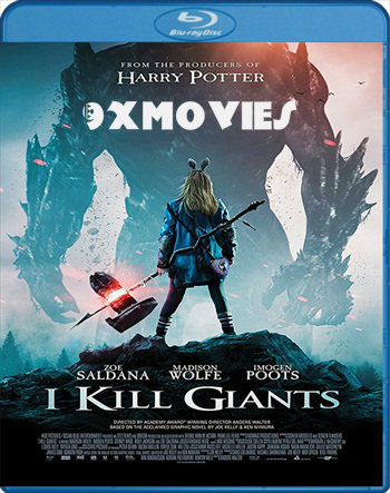 I Kill Giants 2017 English 720p BRRip 950MB ESubs