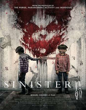 Sinister 2 2015 Hindi Dual Audio 450MB BluRay 720p HEVC ESubs