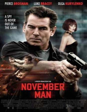 The November Man 2014 Hindi Dual Audio 300MB BluRay 480p ESubs