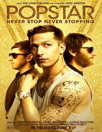 Popstar Never Stop Never Stopping 2016 Hindi Dual Audio 280MB BluRay 480p