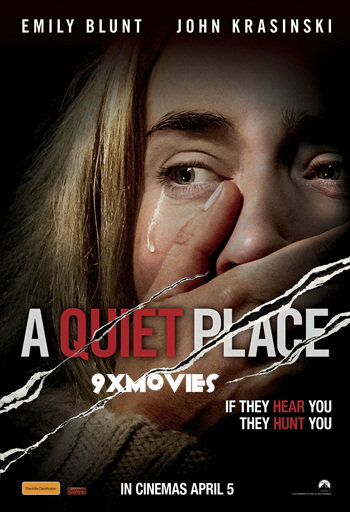 A Quiet Place 2018 English 720p HDRip 750MB