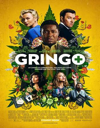 Gringo 2018 Hindi Dual Audio 550MB BluRay 720p ESubs HEVC