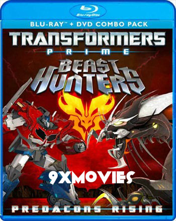 Transformers Prime Beast Hunters 2013 Dual Audio Hindi 720p BluRay 500mb