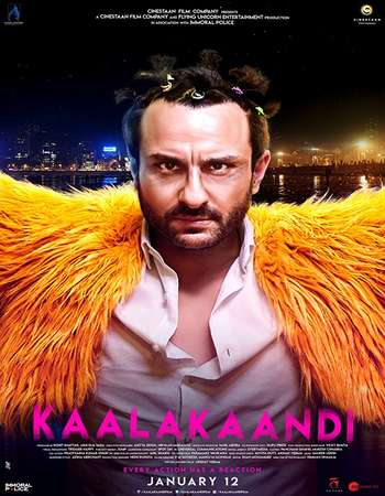 Kaalakaandi 2018 Hindi 300MB HDRip 480p